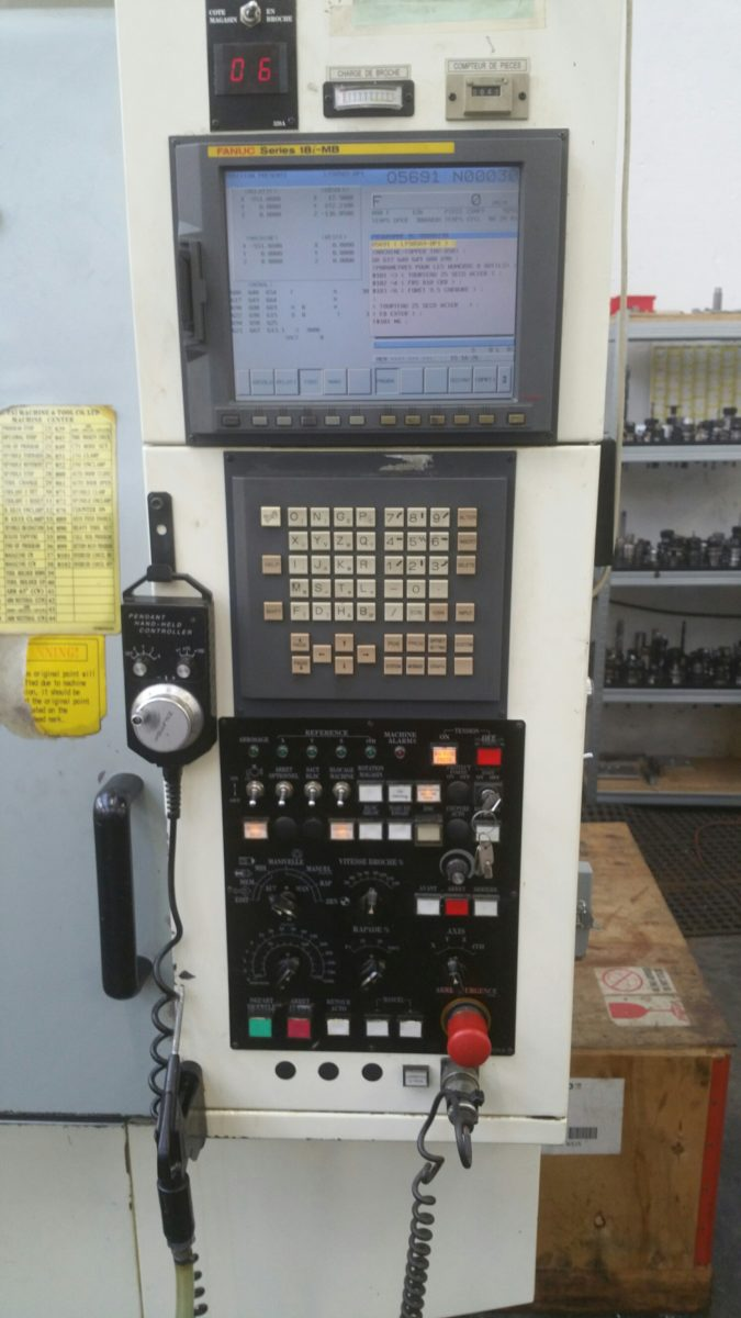 Vertical machining center TOPPER