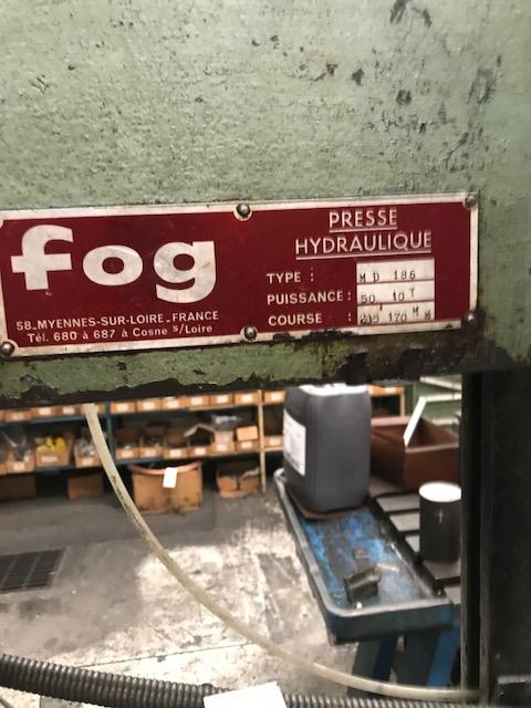 Hydraulic press FOG