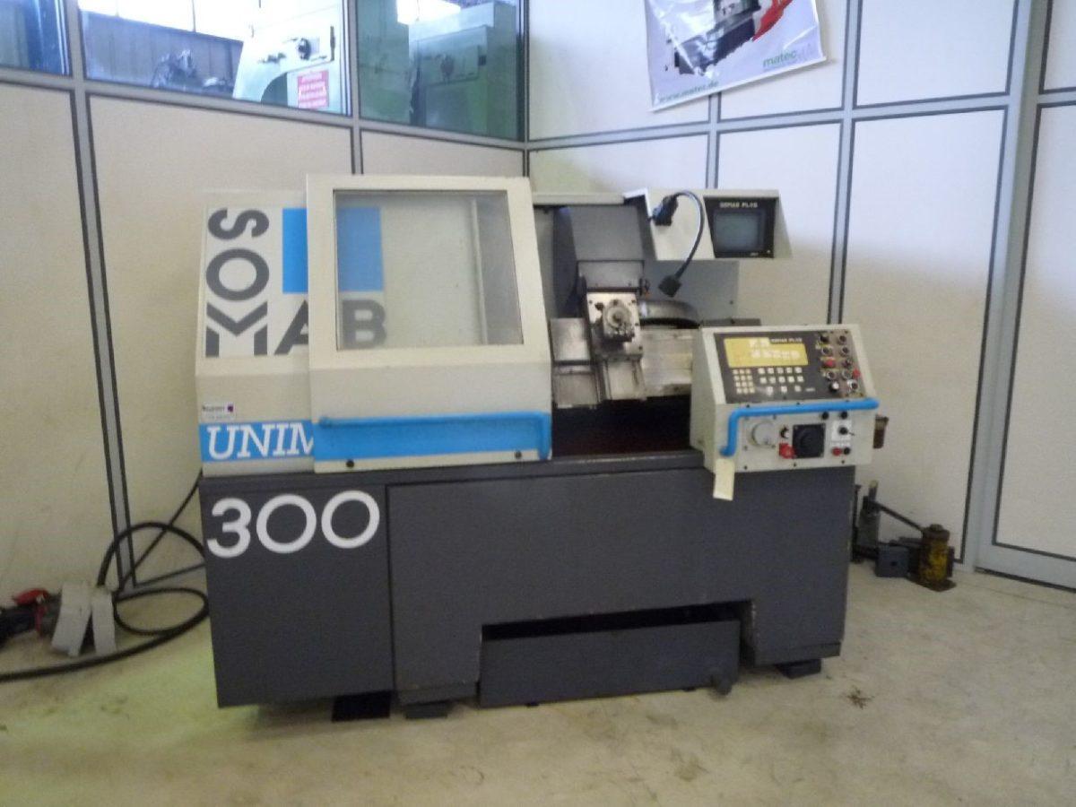 CNC teach-in lathe SOMAB UNIMAB 300